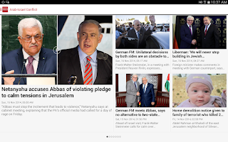 Screenshot of Jerusalem Post