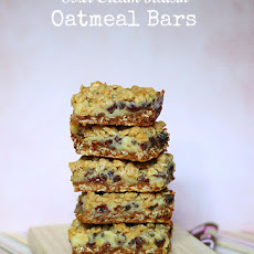 Sour Cream Raisin Oatmeal Bars