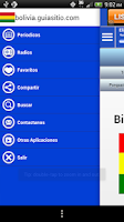 Screenshot of Bolivia Guide Radio n News