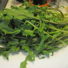 Stir-Fried Dandelion Greens