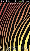 Screenshot of Colorful Zebra Live Wallpaper