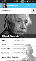Screenshot of Albert Einstein Quotes