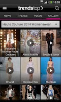 Screenshot of Trendstop Fashion TrendTracker
