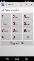 Screenshot of Tariffic - cheap calls