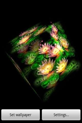 3D ロータス光