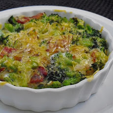 Wicklewood's Broccoli and Bacon Crust Less Quiche