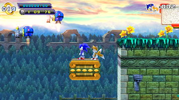 Screenshot of Sonic 4 Episode II THD