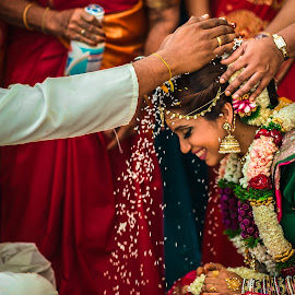 Love Blesses by Mike Tan - Wedding Ceremony ( love, malaysia traditonal wedding, gorgeous, malaysia wedding photographer, malaysia, ceremony, indian wedding )
