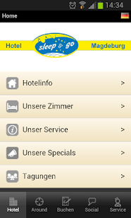 Hotel sleep & go Magdeburg - screenshot