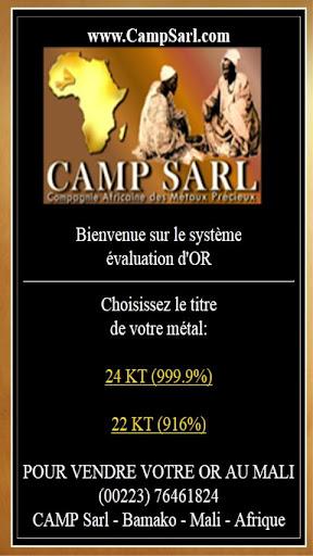 We buy gold in Mali