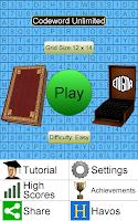 Screenshot of Codeword Unlimited +