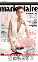 Screenshot of Marie Claire Türkiye