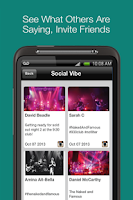 Screenshot of Gravy: fun local events nearby
