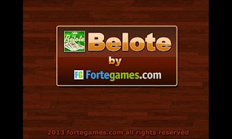 Screenshot of BELOTE BY FORTEGAMES ( BELOT )