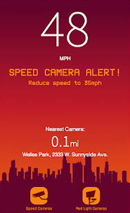 Speed Camera Detector - screenshot