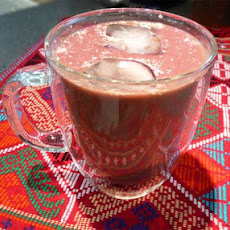 Chocolate Raspberry Iced Coffee-fat free