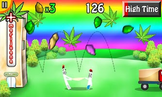 Screenshot of Weed Bounce