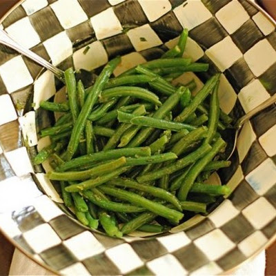 Green Beans with Tarragon Vinaigrette