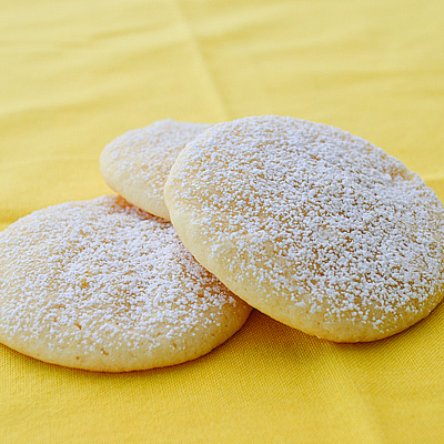 Zesty Lemon Cookies