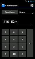 Screenshot of Mental calculation