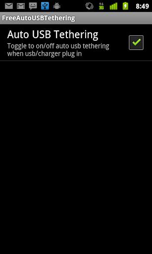 Free Auto Wifi USB tethering