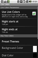 Screenshot of World Clock Widget Pro