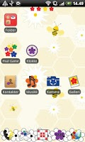 Screenshot of Flower GO Launcher EX Theme