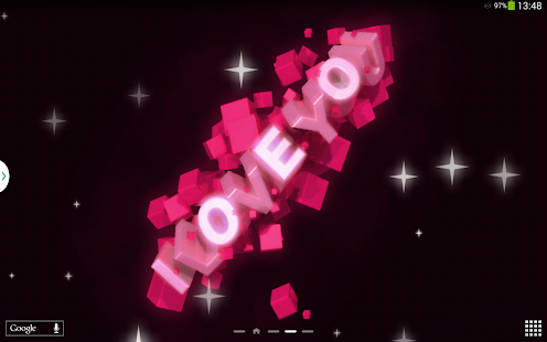 App I Love You Live Wallpaper APK for Windows Phone Android games and apps