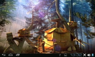Screenshot of Tree Village 3D Free lwp