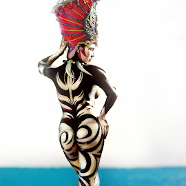 by Joseph Khem Anthony Requerme - People Body Art/Tattoos ( body painting, body paint )