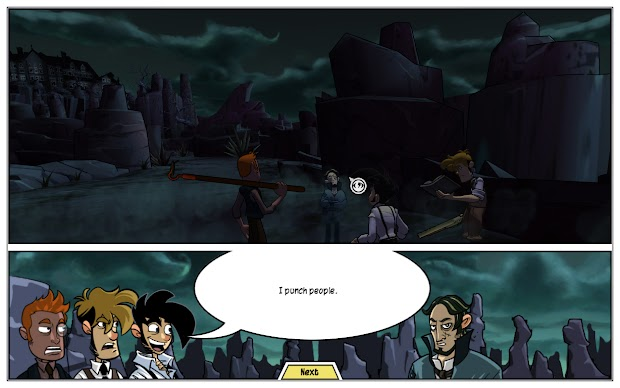 Penny Arcade Adventures: On the Rain-Slick Precipice of Darkness