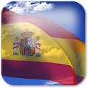 3D Spain Flag