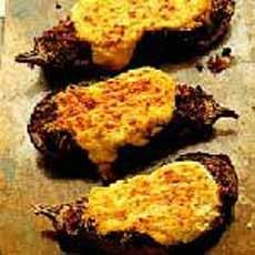 Aubergines Stuffed with Moussaka