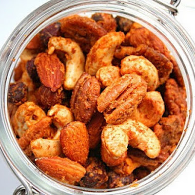 Buffalo Spiced Cocktail Nuts