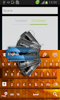 Screenshot of Razor Keyboard