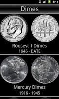 Screenshot of US Coins