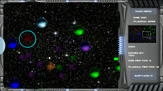 Conquest of the Void - screenshot
