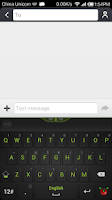 Screenshot of Guobi Keyboard