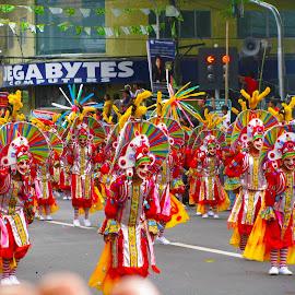 Masskara Festival by Raul Delfin - News & Events Entertainment ( costumes, street dancing, festival, masskara, bacolod city )