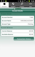 Screenshot of Profile Bank Mobile Banking