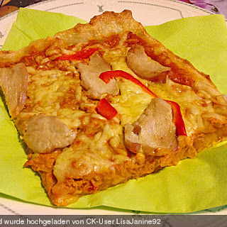 Pizza Curry-Chicken