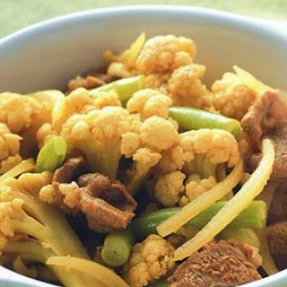 Fried Cauliflower Curry