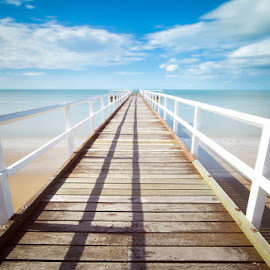 Hervey Bay by Christian Holzinger - Landscapes Beaches ( queensland, hervey bay, australia, ocean, beach )