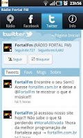 Screenshot of Radio Fortal FM