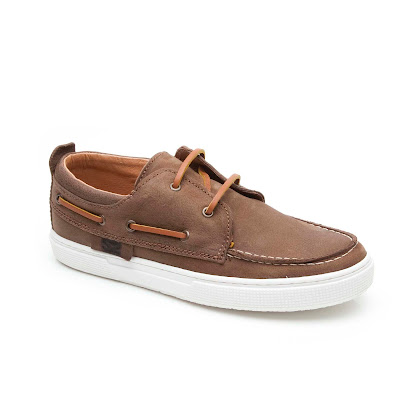 Step2wo Escape - Lace Leather Boat Shoe SHOE