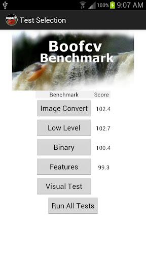 Boofcv Benchmark