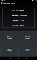Screenshot of WiFi Channel Analyzer