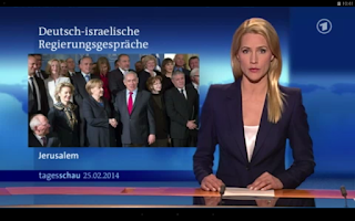 Screenshot of Tagesschau