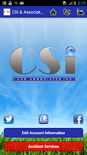 CSI & Associates - screenshot