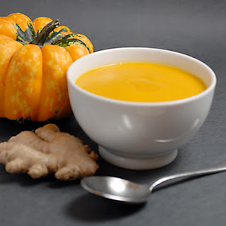 Fresh Pumpkin Ginger Soup Recipes